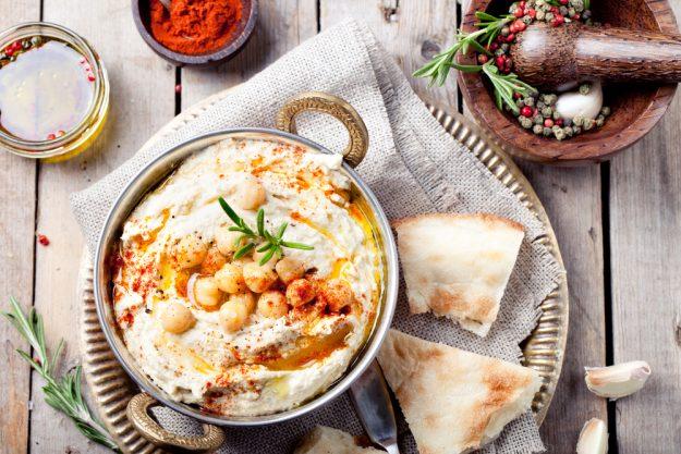Indischer Kochkurs Dresden - Hummus mit Brot