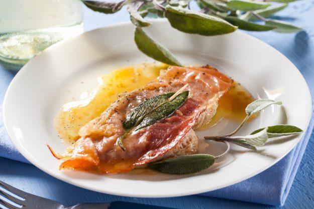 Italien-Kochkurs Senden – Saltimbocca
