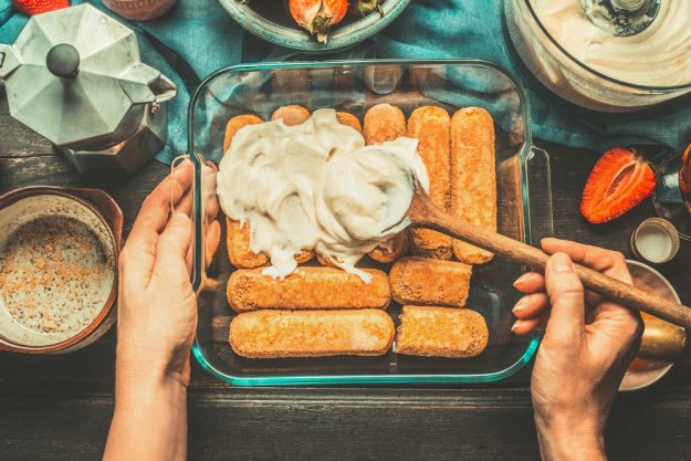 Italien-Kochkurs Senden – Tiramisu zubereiten