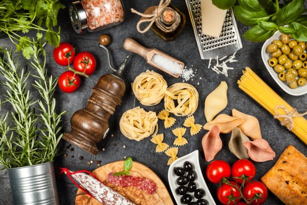 Italienischer Kochkurs Frankfurt – italienische Lebensmittel