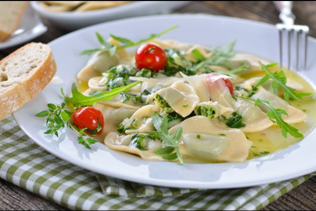 Italienischer Kochkurs Frankfurt - frische Ravioli