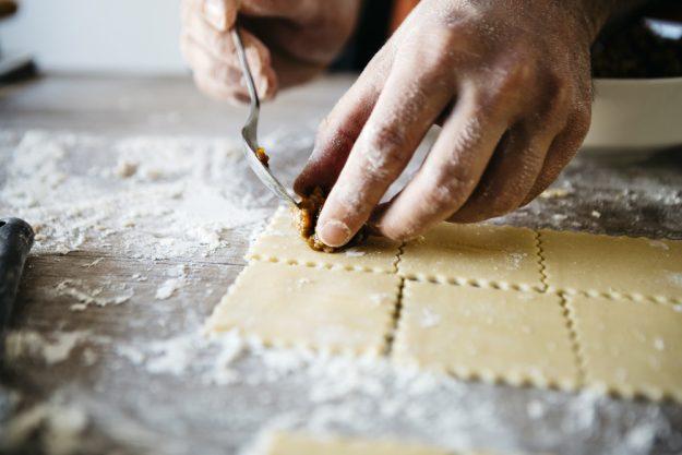 Italienischer Kochkurs Frankfurt – Ravioli selbst füllen