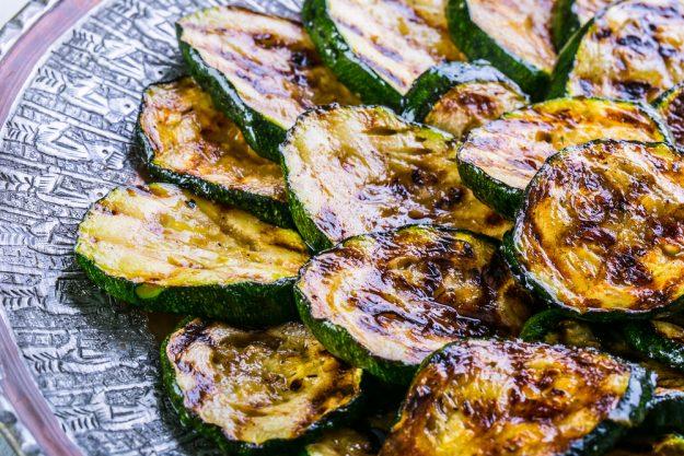 Italienischer Kochkurs München - gegrillte Zucchini
