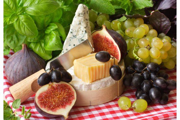 Italienischer Kochkurs München - Käse, Feigen, Trauben