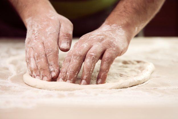 Italienischer Kochkurs München - Pizzateig