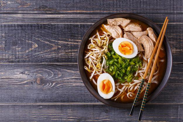 Japan-Kochkurs Hamburg – Ramen mit Ei