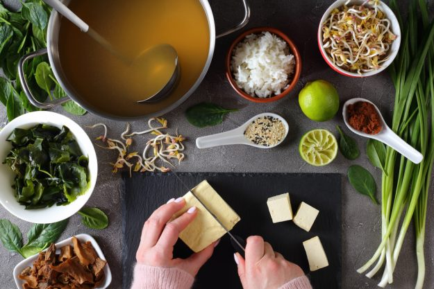 Japan-Kochkurs Hannover – Zutaten für Misosuppe