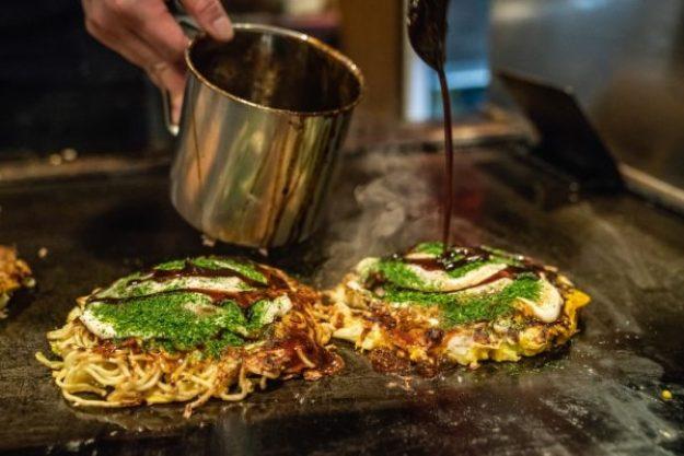 Japanischer Kochkurs Stuttgart – Okonomiyaki - feine Pfannkuchen
