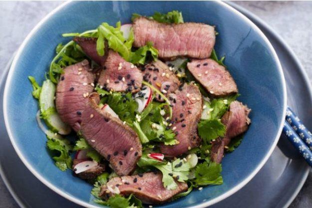 Japanischer Kochkurs Stuttgart – Rindfleischsalat