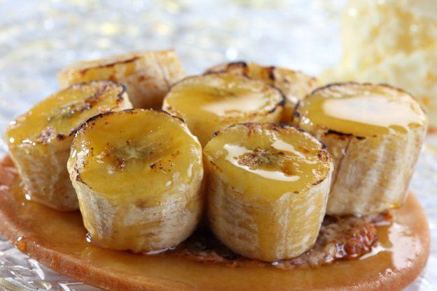karibischer Kochkurs Dresden – karamellisierte bananen