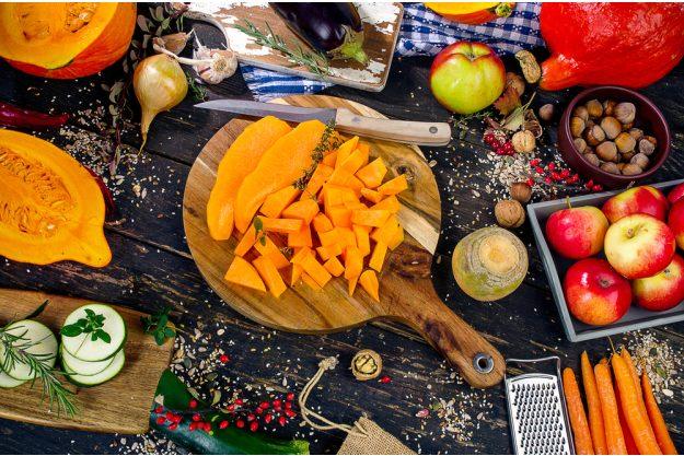 Kochkurs Schwerte – buntes Herbstgemüse