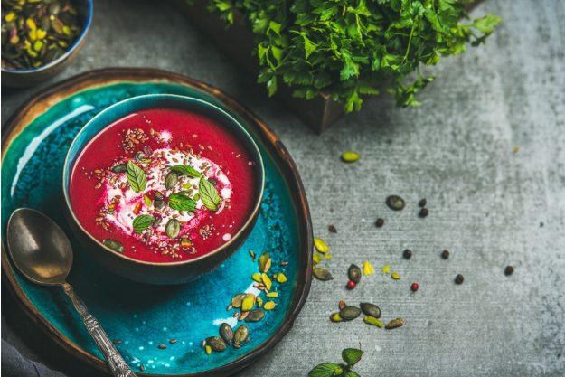 Kochkurs Stuttgart – rote Bete Suppe