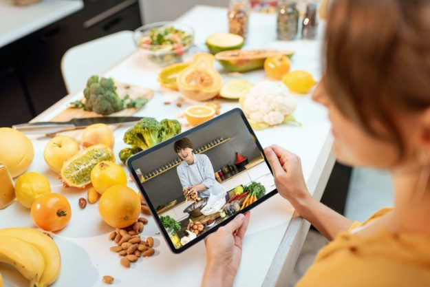 Kochkurs online at Home vegetarisch