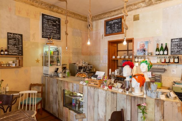 Kulinarische Stadtführung Berlin – gemütliches Café