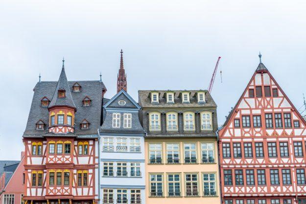 Kulinarische Stadtführung Frankfurt – Häuser in Frankfurt
