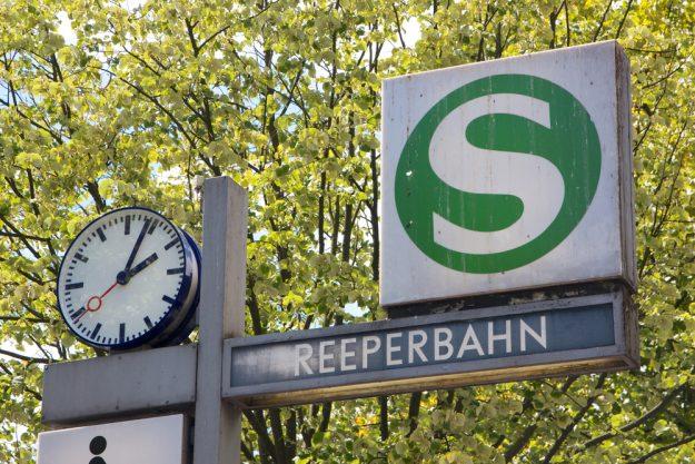 Kulinarische Stadtführung Hamburg - Schild Reeperbahn
