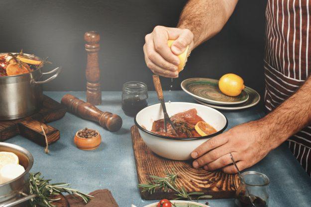 Männer-Kochkurs Stuttgart –  Fleisch marinieren