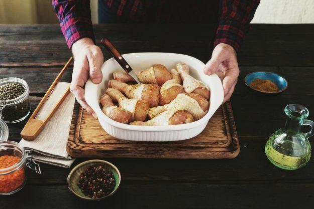 Männerkochkurs Stuttgart – Hähnchen in Ofenform