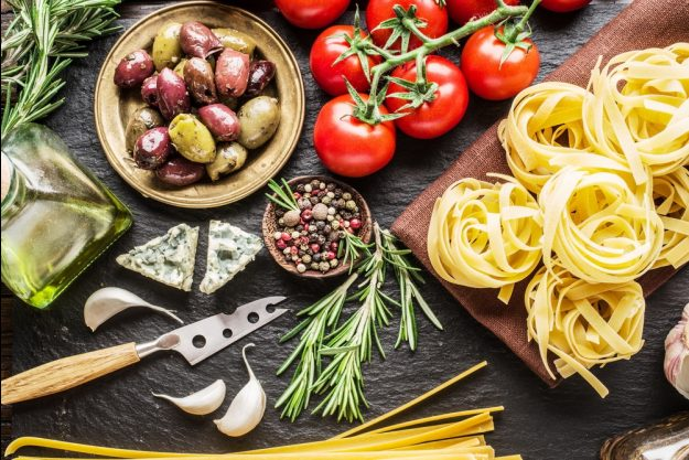 Mediterraner Kochkurs München – mediterrane Lebensmittel