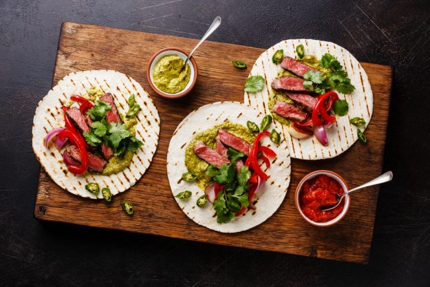 Mexikanischer Kochkurs Münster – gefüllte Fajitas
