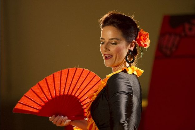 Krimi & Dinner in München - Flamencotänzerin
