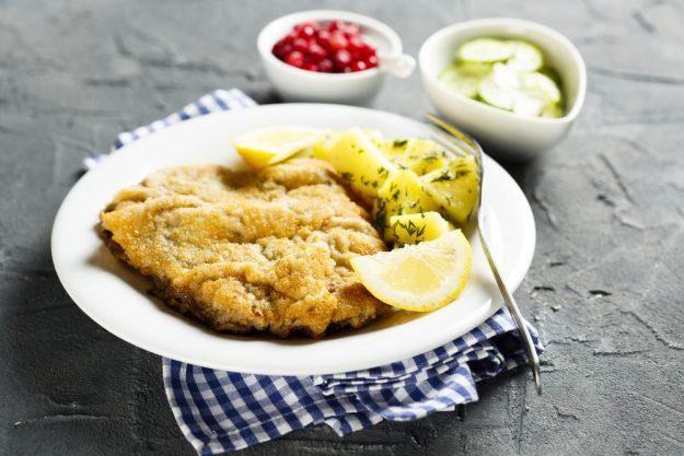 Österreich-Kochkurs München –  Schnitzel mit Kartoffelsalat