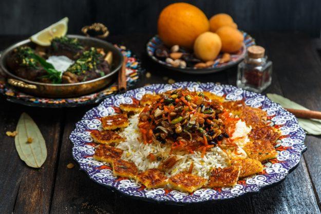 Orient-Kochkurs Stuttgart – persisches Hauptgericht