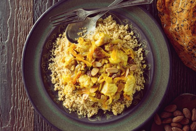 Orientalischer Kochkurs Stuttgart – Couscous mit Nüssen und Fleisch
