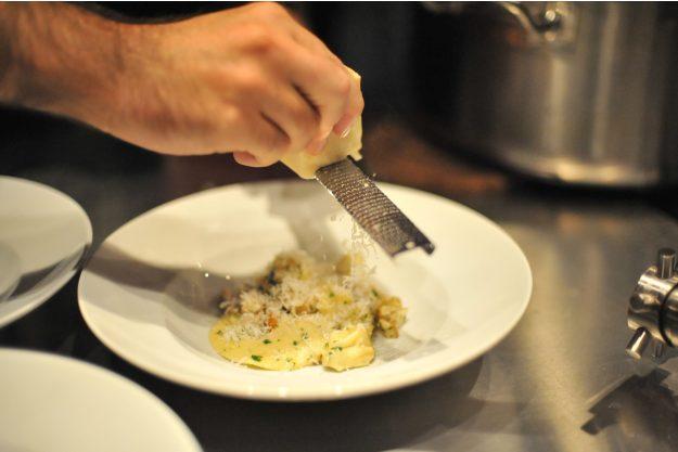 Italienischer Kochkurs Frankfurt - letztes Finish