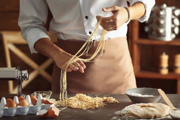 Pasta-Kochkurs Senden – frische Nudeln