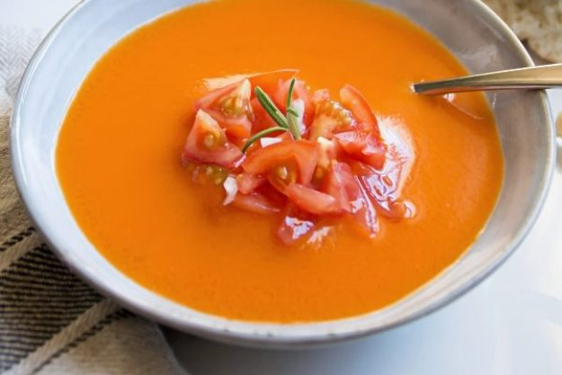 Saisonaler Kochkurs –Gazpacho