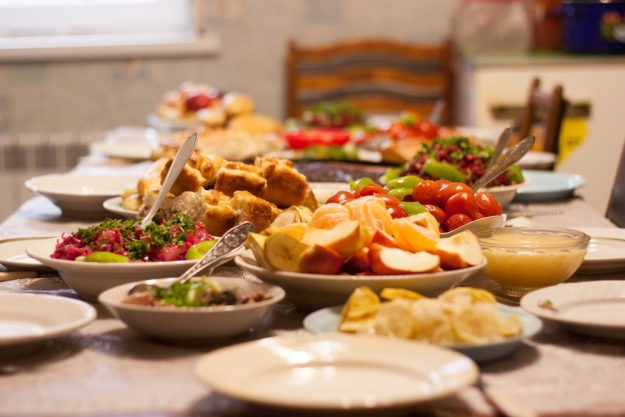 Saisonaler Kochkurs Stuttgart – gedeckter Esstisch
