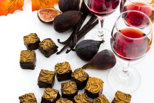 Schokolade- und Weinseminar Regensburg – Wein und Pralinen