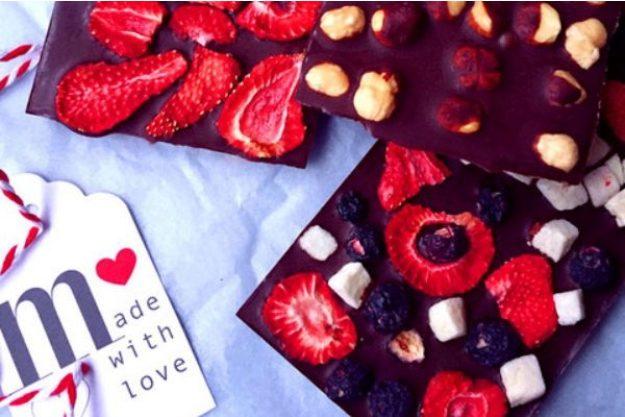 Schokolade macht glücklich –Selbstgemachte Schokolade
