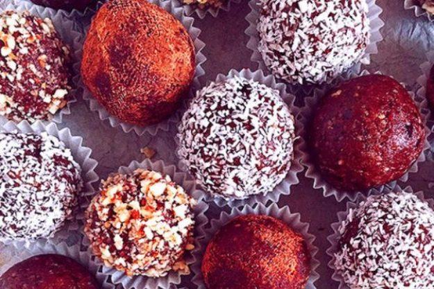 Schokolade macht glücklich –Pralinen