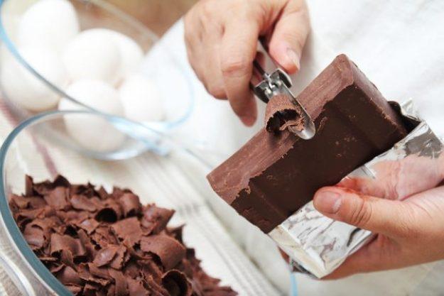 Schokolade macht glücklich –Nougat