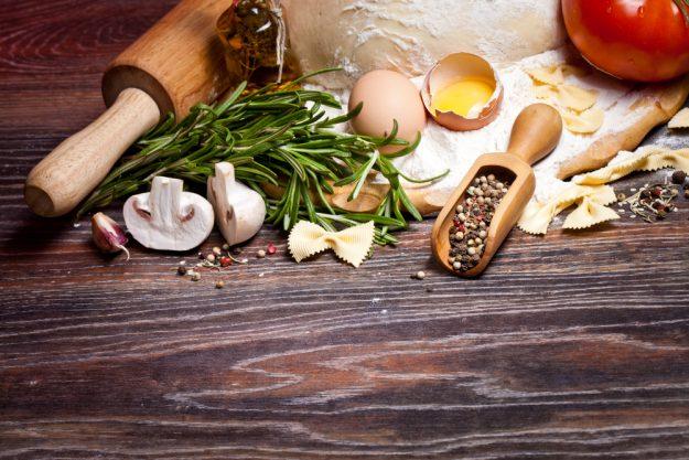 Schwäbischer Kochkurs Stuttgart Filderstadt - Zutaten für das schwäbische Menü