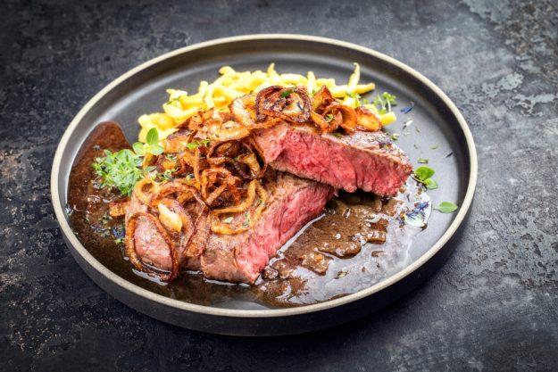 Schwäbischer Kochkurs Reutlingen  – Zwiebelrostbraten