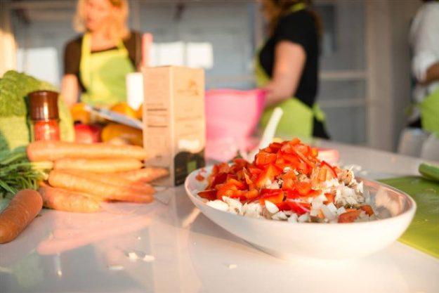 weihnachtlicher Kochkurs Berlin - vegetarisches kochen