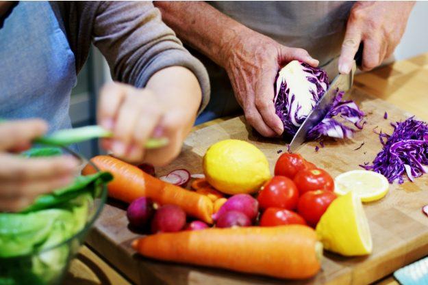 Spanischer Kochkurs Hannover – Gemüse schneiden