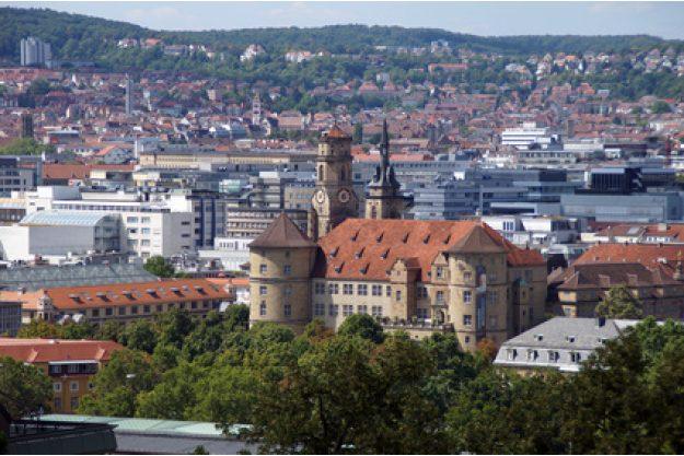 Betriebsausflug Stuttgart - Blick über Stuttgart