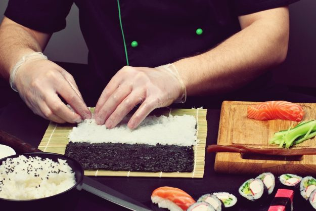 Sushi-Kochkurs Schwerte – Bambusblätter