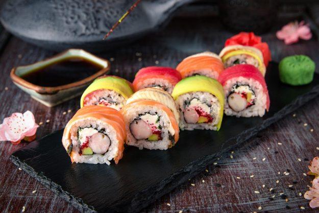 Sushi-Kurs-Bonn – Regenbogenmaki