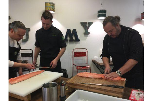Sushi-Kurs-Fortgeschrittene-Bonn – Fisch professionell filetieren
