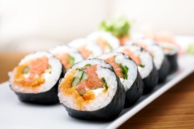 Sushi-Kurs Frankfurt – Lachs-Maki