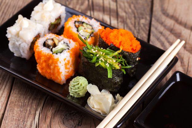 Sushi-Kurs Frankfurt - Sushi mit Kaviar und Seetang