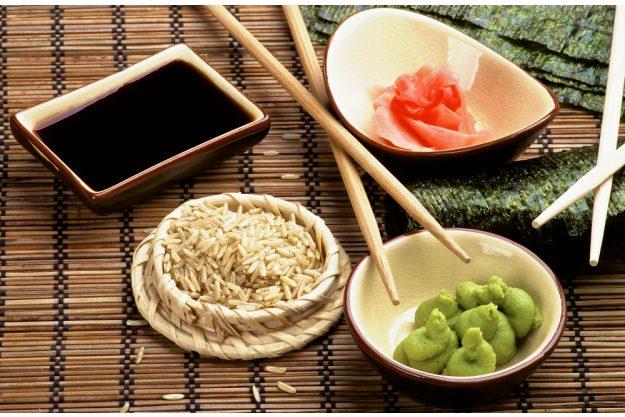 Sushi-Kurs Frankfurt – Wasabi, Ingwer, Soja-Sauce