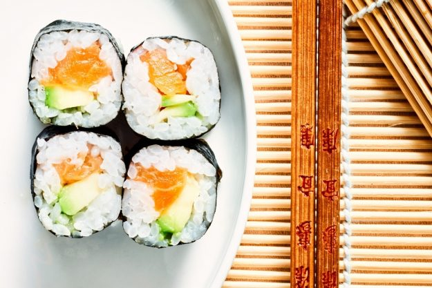 Sushi-Kurs Nürnberg – Maki mit Lachs und Avocado