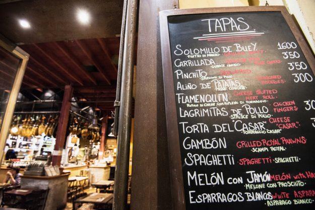 Tapas-Kochkurs Hannover – Tapas-Tageskarte