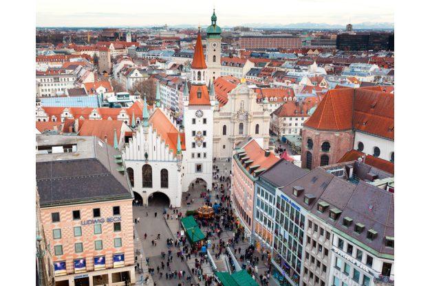 Teambuilding München - Aussicht vom Rathaus